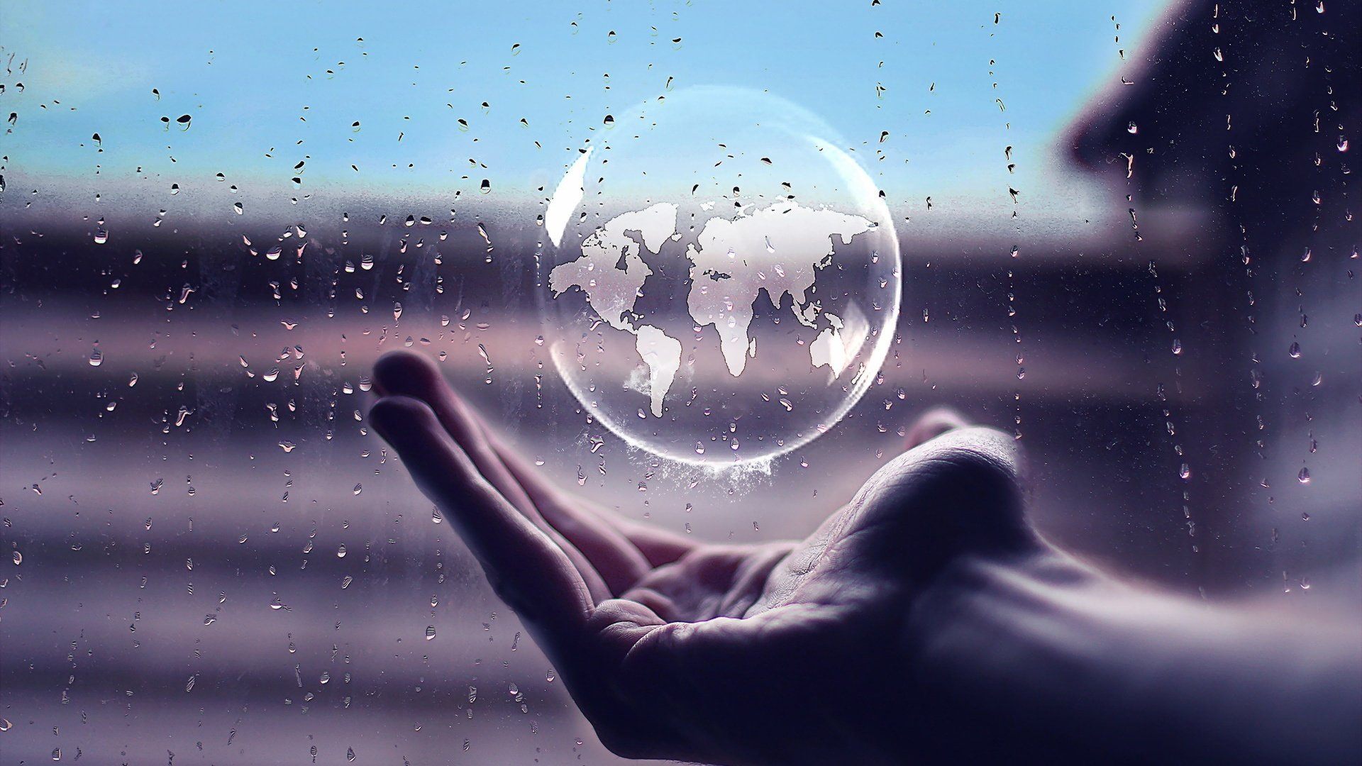 HANDS___world_sphere_rain_transparencse_1920x1080